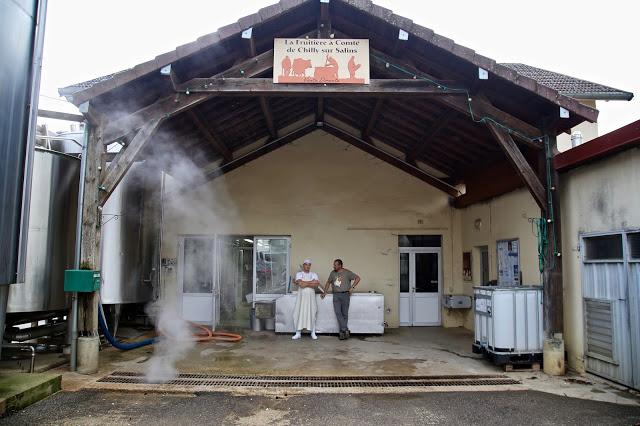 La fruitière à Compté, de Chilly sur Salins, Franche-comté