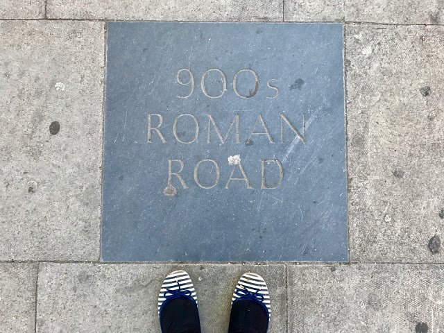 roman road Watling St kilburn pic: Kerstin Rodgers