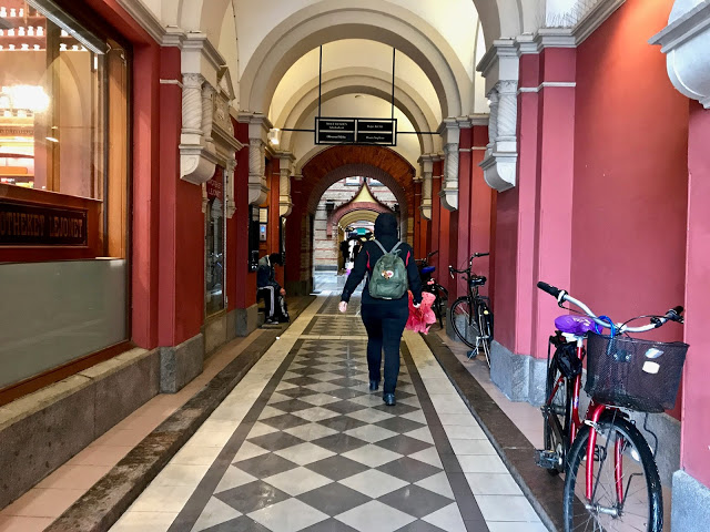 shopping arcade, malmo