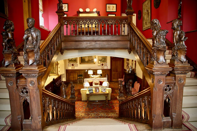 staircase, Carlton Towers, Yorkshire