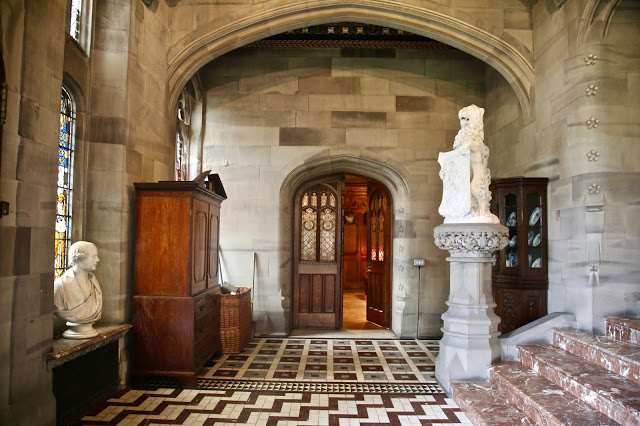 hallway, Carlton Towers, Yorkshire