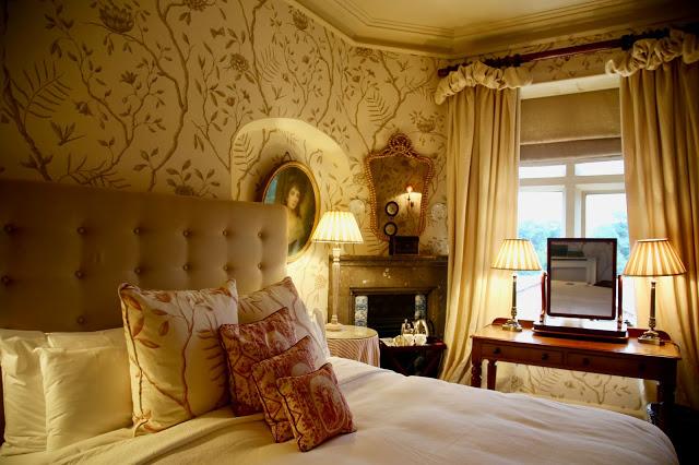 bedroom Carlton Towers, Yorkshire