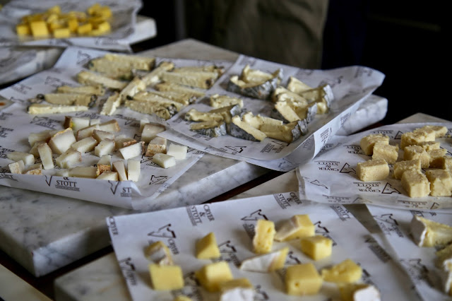cheese from Cryer and Stott, Carlton Towers, Yorkshire