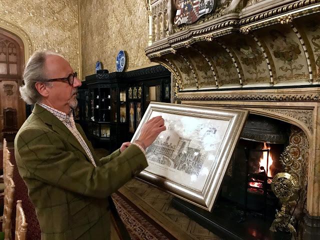 Lord Gerald Fitzalan-Howard, Carlton Towers, Yorkshire