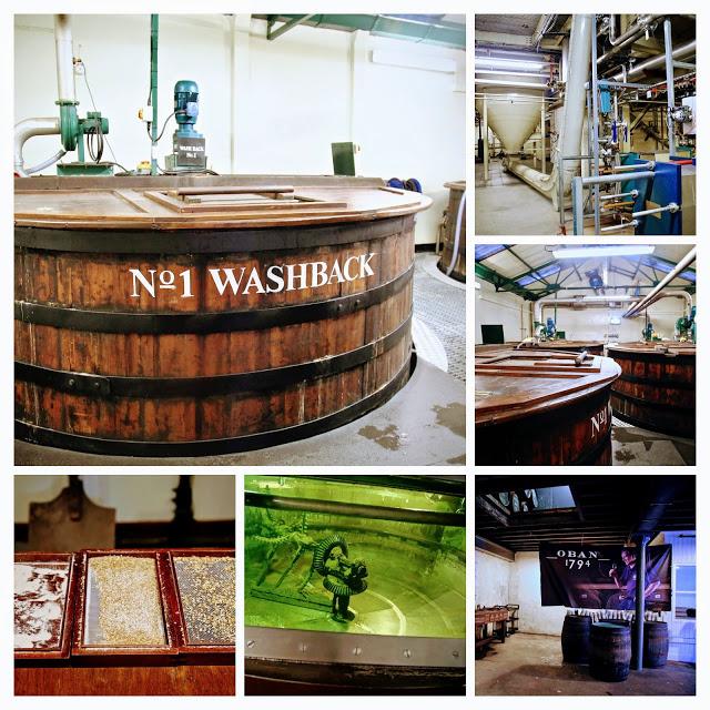 Oban whisky distillery, Scotland