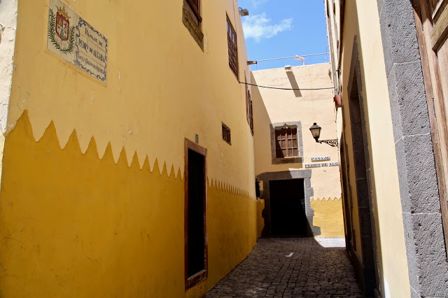 Old town,  Gran Canaria. Pic:Kerstin Rodgers/msmarmitelover