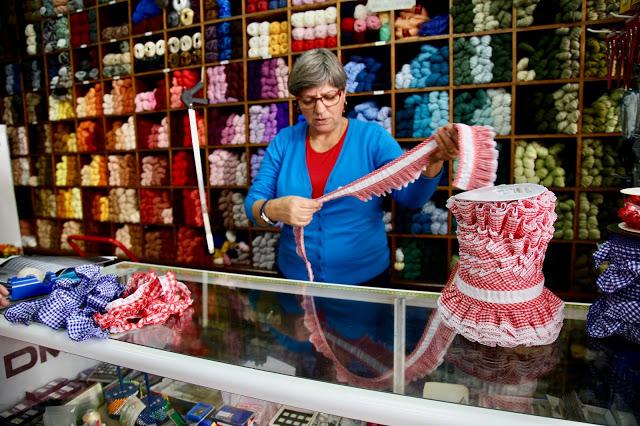 haberdashers shop,, Funchal, Madeira,  pic: Kerstin Rodgers/msmarmitelover