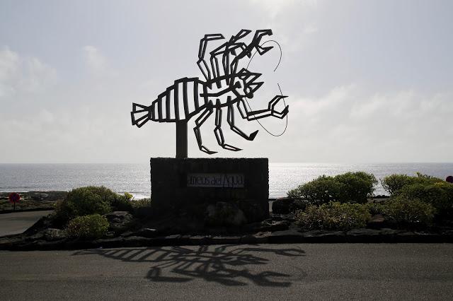 blind lobster, Jameos del agua, Cesar Manrique, Lanzarote, Pic: Kerstin Rodgers/msmarmitelover