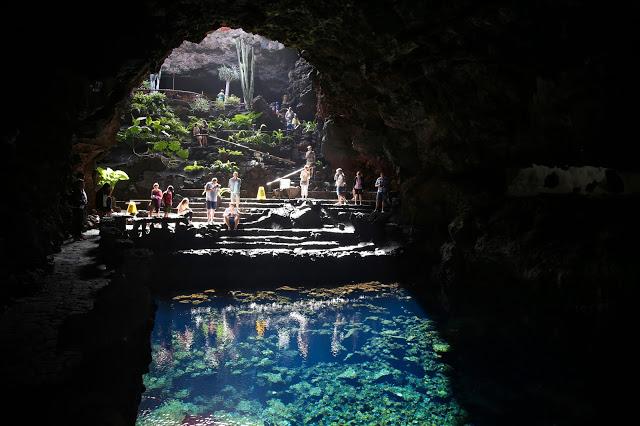 Jameos del agua, Cesar Manrique, Lanzarote, Pic: Kerstin Rodgers/msmarmitelover