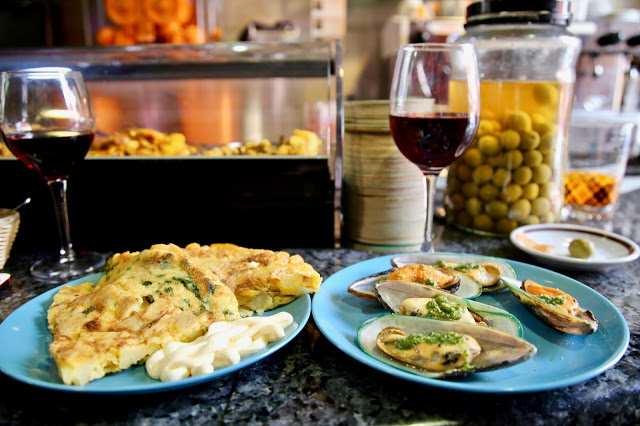 tapas,  market place bar, Santa Cruz de la Palma, Canary Islands Pic: Kerstin Rodgers/msmarmitelover