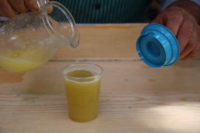sugar cane juice, Funchal, Madeira,  pic: Kerstin Rodgers/msmarmitelover