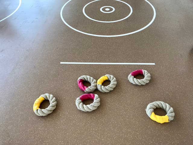 Quoits.  Britannia, P and O cruise ship. pic: Kerstin Rodgers/msmarmitelover