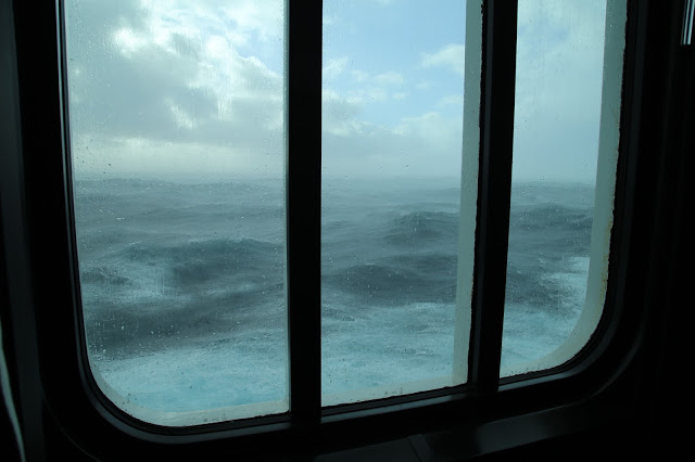 storm across the Bay of Biscay.  Britannia, P and O cruise ship. pic: Kerstin Rodgers/msmarmitelover