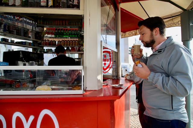 kiosk,  Lisbon, Portugal:  Pic: Keratin Rodgers/msmarmitelover