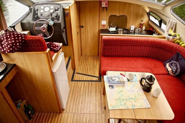 Herbert Woods boat/Boating on the Norfolk broads, pic: Kerstin Rodgers/msmarmitelover.com