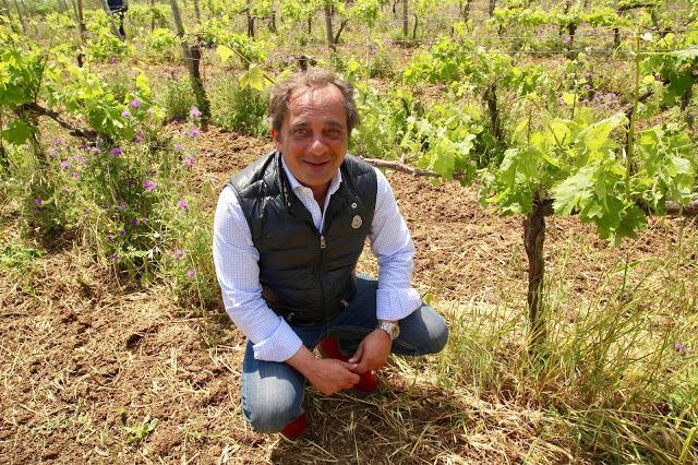 Gianfranco Sabbatini, owner of Le casematte winery, sicily