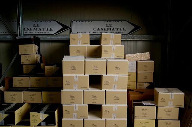 Le casematte winery, sicily