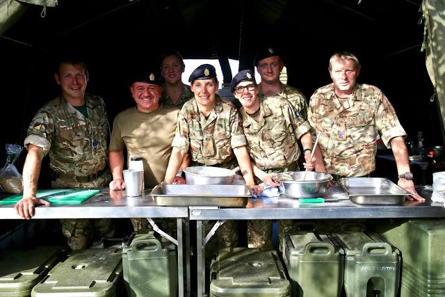 167 catering corps, Prince William of Gloucester barracks pic: Kerstin Rodgers/msmarmitelover.com