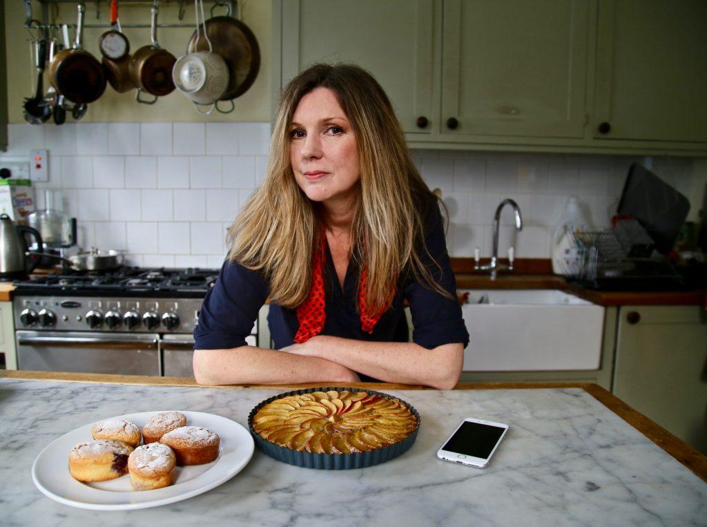 Niki Segnit in her kitchen pic:Kerstin Rodgers/msmarmitelover.com
