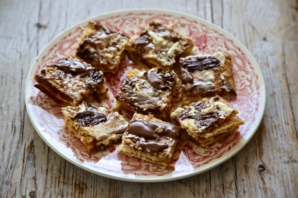 passover matzoh crunch recipe pic:Kerstin Rodgers