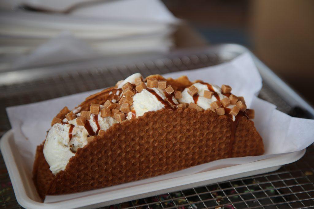 ice cream taco Pic Kerstin Rodgers