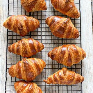 Croissants pix: Kerstin Rodgers/msmarmitelover.com