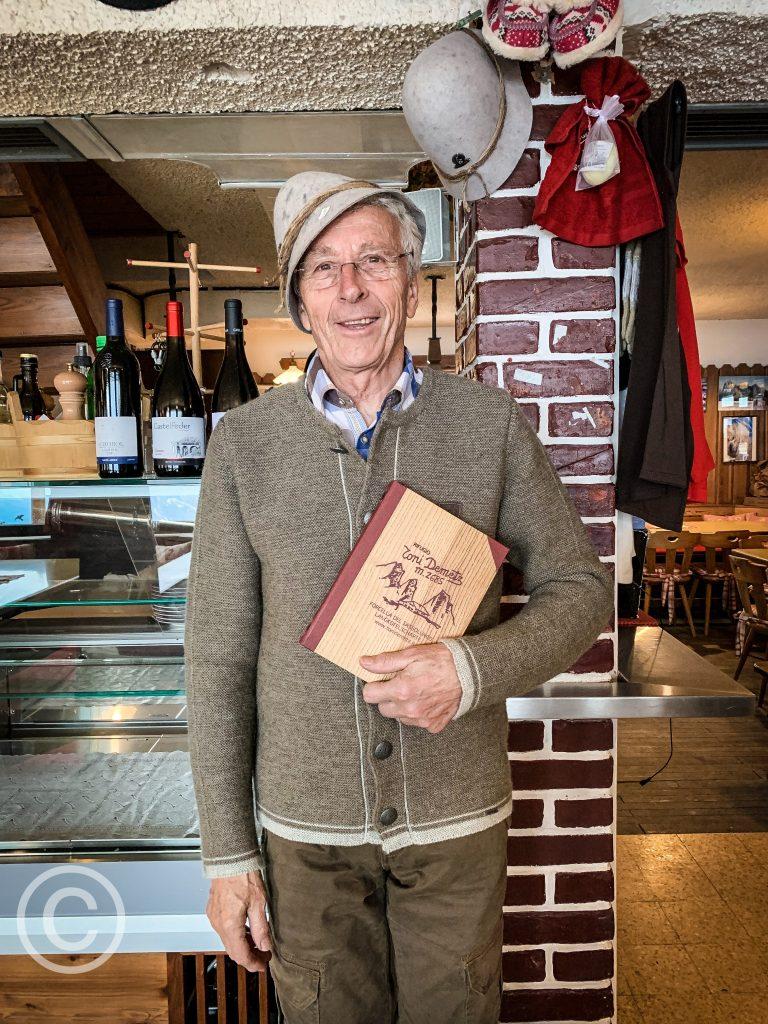 Ladino man in South Tyrol pix: Kerstin Rodgers/msmarmitelover.com