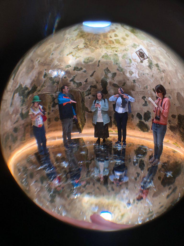 An underground cistern in the hotel Corte San Pietro, Matera, Basilicata pix: Kerstin Rodgers/msmarmitelover.com