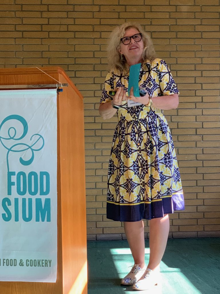 Sandra Mian, Mexican food expert and writer