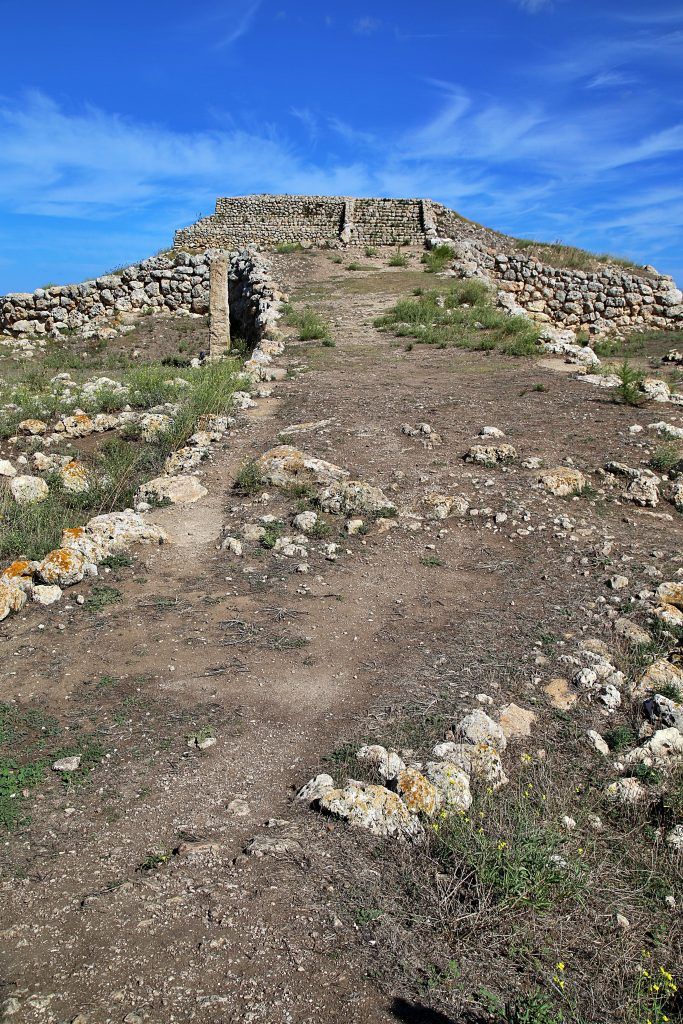 ziggurat at Monte D'accoddi, Sardinia pic: Kerstin rodgers/msmarmitelover.com