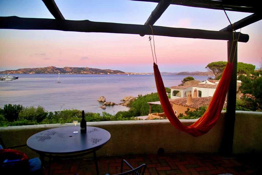 Rosetta apartment terrace, Essential Italy, Porto Rafael, Sardinia pic: Kerstin rodgers/msmarmitelover.com