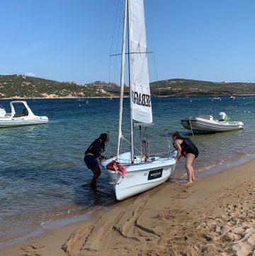 sailing in Sardinia.
