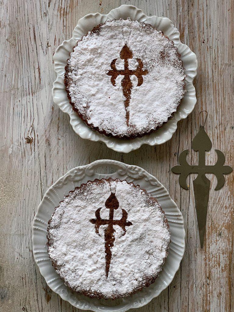 torta De Santiago pic: Kerstin rodgers/msmarmitelover.com
