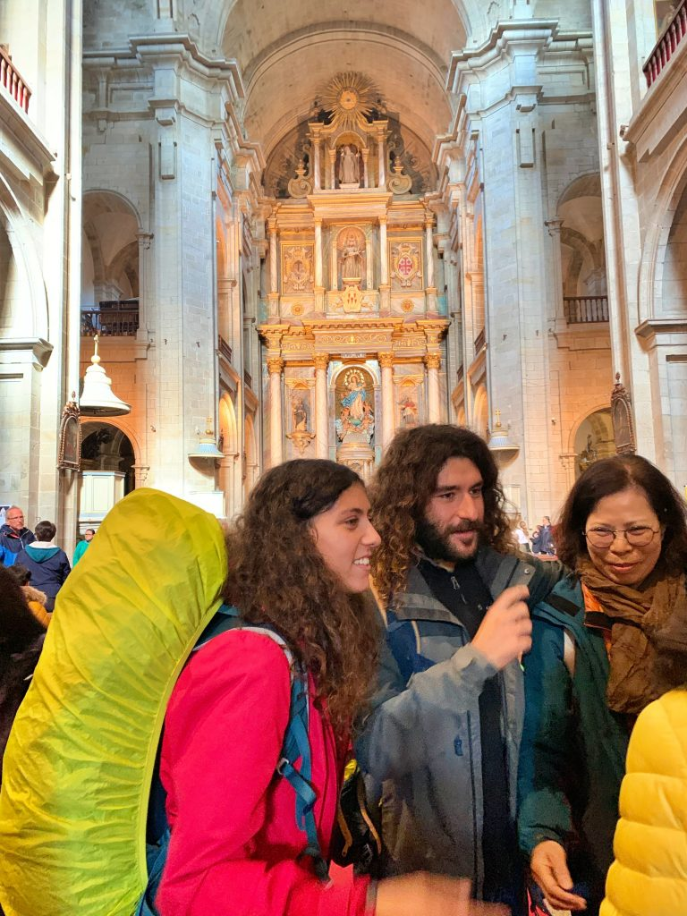 Santiago, the pilgrims service pic: Kerstin rodgers/msmarmitelover.com
