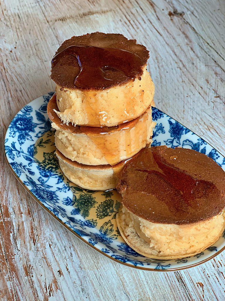 Japanese pancake recipes: Dorayaki  and fluffy pancakes pic: Kerstin rodgers/msmarmitelover.com