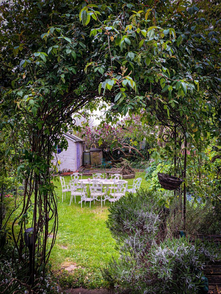 my garden curing lockdown pic: Kerstin rodgers/msmarmitelover.com