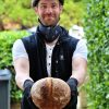 Sean Chambers delivering bread pic: Kerstin rodgers/msmarmitelover.com