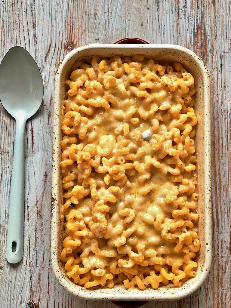 Tinned mushroom soup macaroni cheese pic: Kerstin rodgers/msmarmitelover.com