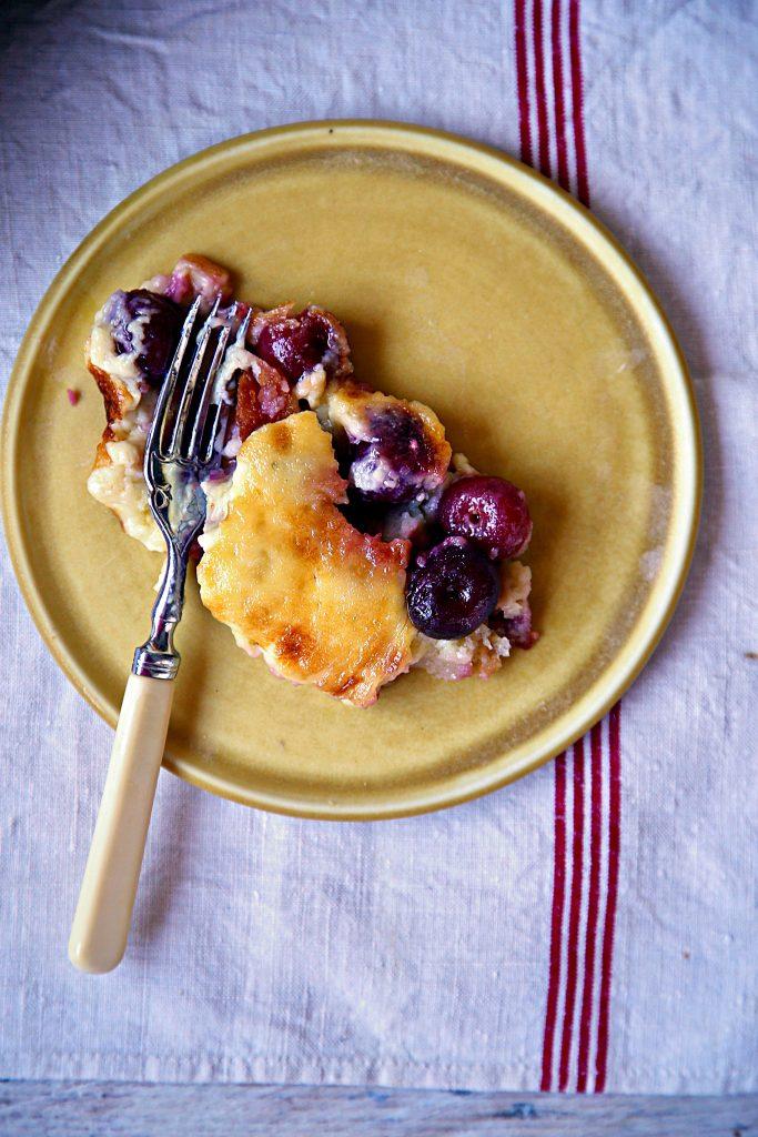 cherry clafoutis pic: Kerstin rodgers/msmarmitelover.com