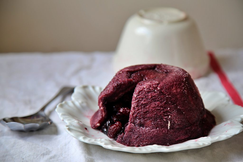 Cherry summer pudding pic: Kerstin rodgers/msmarmitelover.com