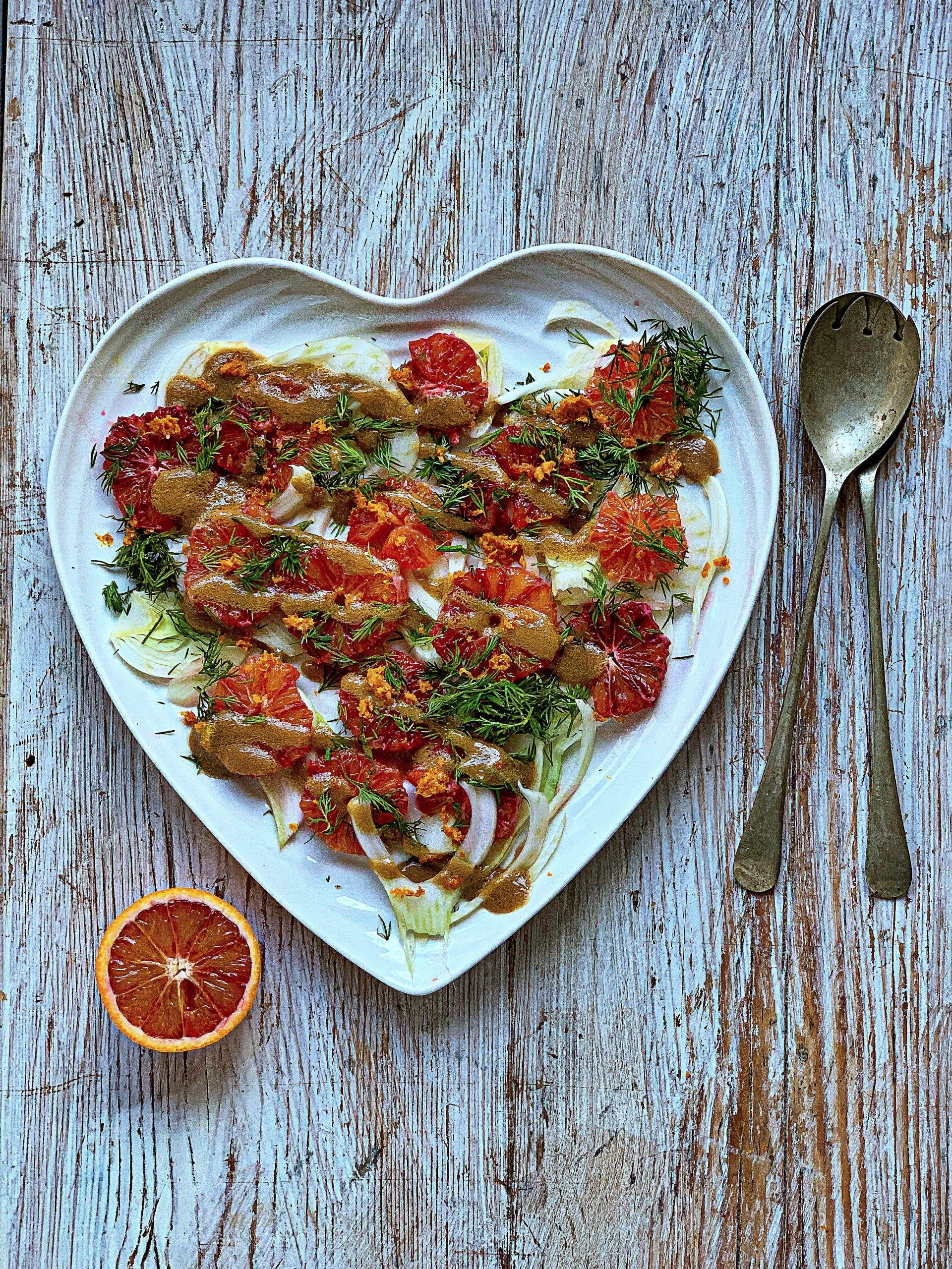 blood orange, fennel and dill salad pic: Kerstin rodgers/msmarmitelover.com